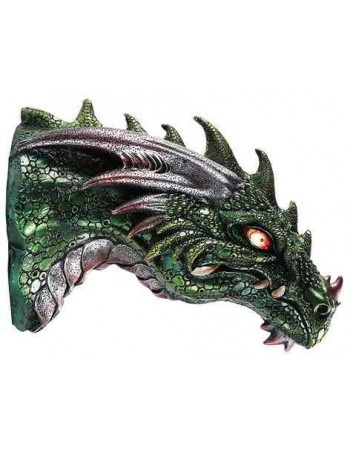 Dragon LED Light Wall Plaque Mythic Decor  Dragon Statues, Angels, Myths & Legend Statues & Home Decor