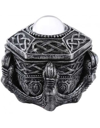 Dragon Claw Trinket Box Mythic Decor  Dragon Statues, Angels, Myths & Legend Statues & Home Decor