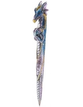 Ice Dragon Refillable Ball Point Pen Mythic Decor  Dragon Statues, Angels, Myths & Legend Statues & Home Decor