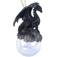 Checkmate Blue Dragon Ornament