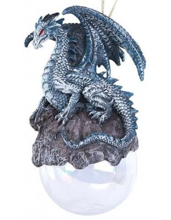 Checkmate Gray Dragon Ornament Mythic Decor  Dragon Statues, Angels, Myths & Legend Statues & Home Decor