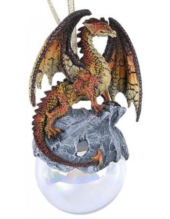Hyperion Golden Dragon Ornament Mythic Decor  Dragon Statues, Angels, Myths & Legend Statues & Home Decor