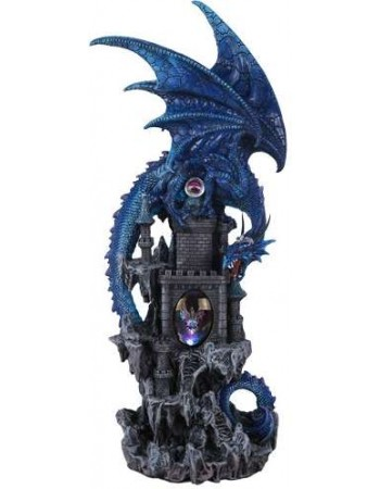 Dragon Castle Guardian Statue Mythic Decor  Dragon Statues, Angels & Demons, Myths & Legends |Statues & Home Decor