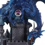Dragon Castle Guardian Statue at Mythic Decor,  Dragon Statues, Angels, Myths & Legend Statues & Home Decor