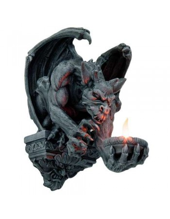 Whitechapel Gargoyle Wall Candleholder Mythic Decor  Dragon Statues, Angels & Demons, Myths & Legends |Statues & Home Decor