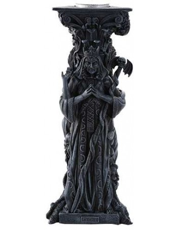 Mother, Maiden, Crone Goddess Candle Holder Gray Mythic Decor  Dragon Statues, Angels, Myths & Legend Statues & Home Decor