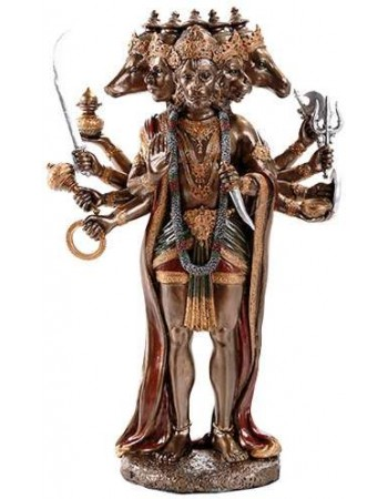 Hanuman Hindu God 10 Inch Statue Mythic Decor  Dragon Statues, Angels & Demons, Myths & Legends |Statues & Home Decor