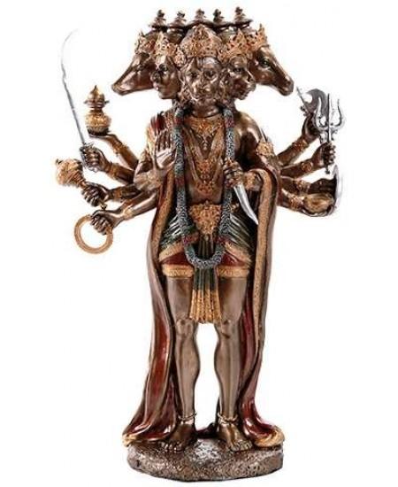 Hanuman Hindu God 10 Inch Statue at Mythic Decor,  Dragon Statues, Angels, Myths & Legend Statues & Home Decor