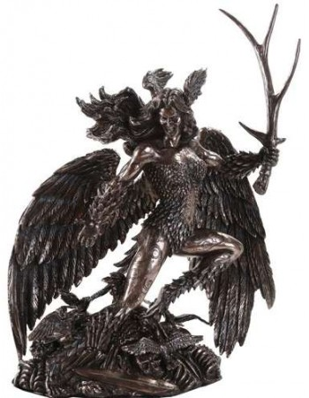 Morrigan Celtic Goddess Statue Mythic Decor  Dragon Statues, Angels & Demons, Myths & Legends |Statues & Home Decor