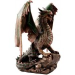 Bronzage Dragon Statue at Mythic Decor,  Dragon Statues, Angels & Demons, Myths & Legends |Statues & Home Decor