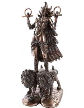 Ishtar Babylonian War Goddess Statue Mythic Decor  Dragon Statues, Angels, Myths & Legend Statues & Home Decor