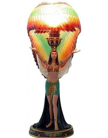 Winged Isis Table Lamp Mythic Decor  Dragon Statues, Angels, Myths & Legend Statues & Home Decor