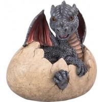 Garden Dragon Egg Statue
