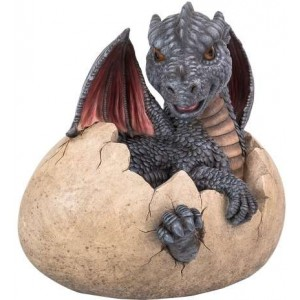 Garden Dragon Egg Statue Mythic Decor  Dragon Statues, Angels & Demons, Myths & Legends |Statues & Home Decor