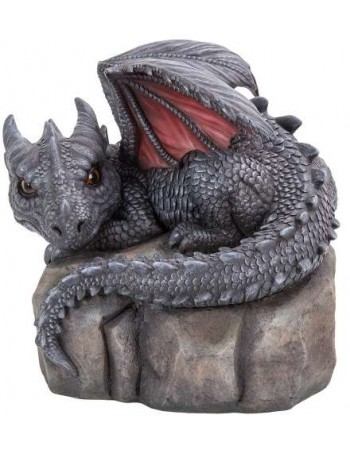 Garden Dragon on Rock Statue Mythic Decor  Dragon Statues, Angels & Demons, Myths & Legends |Statues & Home Decor