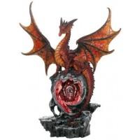 Hyperion Golden Dragon Statue