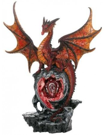 Hyperion Golden Dragon Statue Mythic Decor  Dragon Statues, Angels & Demons, Myths & Legends |Statues & Home Decor