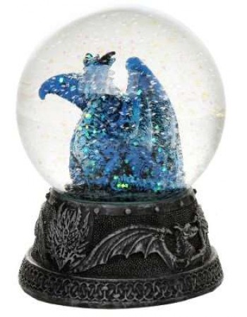 Quicksilver Blue Dragon Water Globe Mythic Decor  Dragon Statues, Angels, Myths & Legend Statues & Home Decor