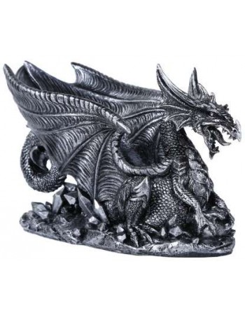Winged Dragon Gothic Wine Bottle Holder Mythic Decor  Dragon Statues, Angels, Myths & Legend Statues & Home Decor
