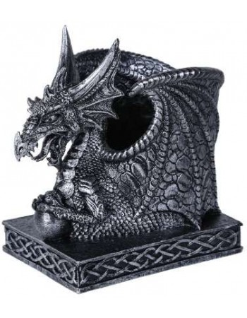 Winged Dragon Utility Holder Cup Mythic Decor  Dragon Statues, Angels, Myths & Legend Statues & Home Decor