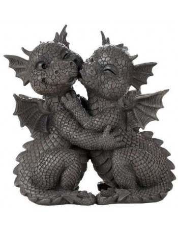 Garden Dragon Loving Couple Statue Mythic Decor  Dragon Statues, Angels & Demons, Myths & Legends |Statues & Home Decor