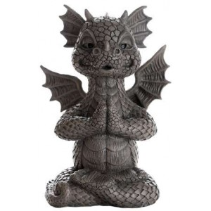 Garden Dragon Yoga Statue Mythic Decor  Dragon Statues, Angels & Demons, Myths & Legends |Statues & Home Decor