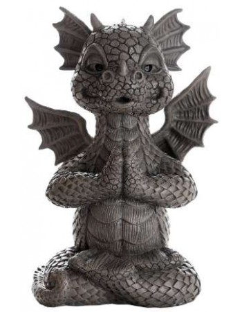 Garden Dragon Yoga Statue Mythic Decor  Dragon Statues, Angels, Myths & Legend Statues & Home Decor