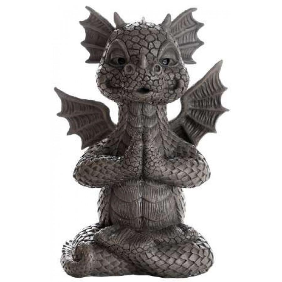 Garden Dragon Yoga Statue At Mythic Decor, Dragon Statues, Angels U0026 Demons,  Myths