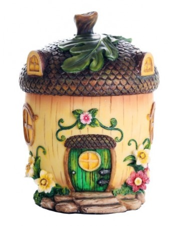 Acorn Fairy Garden House Mythic Decor  Dragon Statues, Angels, Myths & Legend Statues & Home Decor