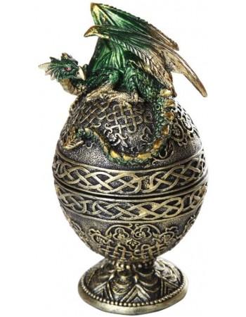 Dragon Egg Trinket Box Mythic Decor  Dragon Statues, Angels, Myths & Legend Statues & Home Decor