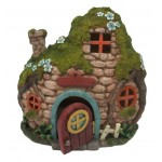Fairy Cottage with Light at Mythic Decor,  Dragon Statues, Angels & Demons, Myths & Legends |Statues & Home Decor