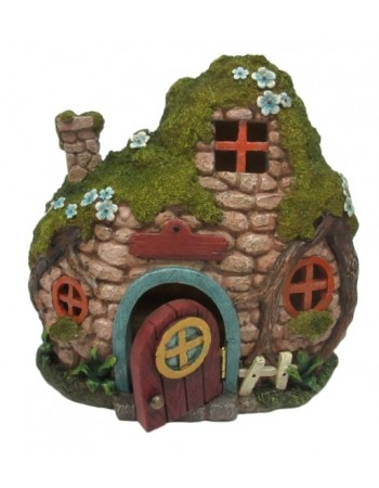 Fairy Cottage with Light Mythic Decor  Dragon Statues, Angels, Myths & Legend Statues & Home Decor