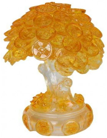 Money Tree Auspicious Feng Shui Amber Statue Mythic Decor  Dragon Statues, Angels, Myths & Legend Statues & Home Decor