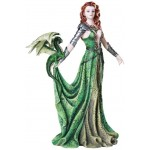 Astranaithes Warrior Woman with Dragon Statue at Mythic Decor,  Dragon Statues, Angels & Demons, Myths & Legends |Statues & Home Decor
