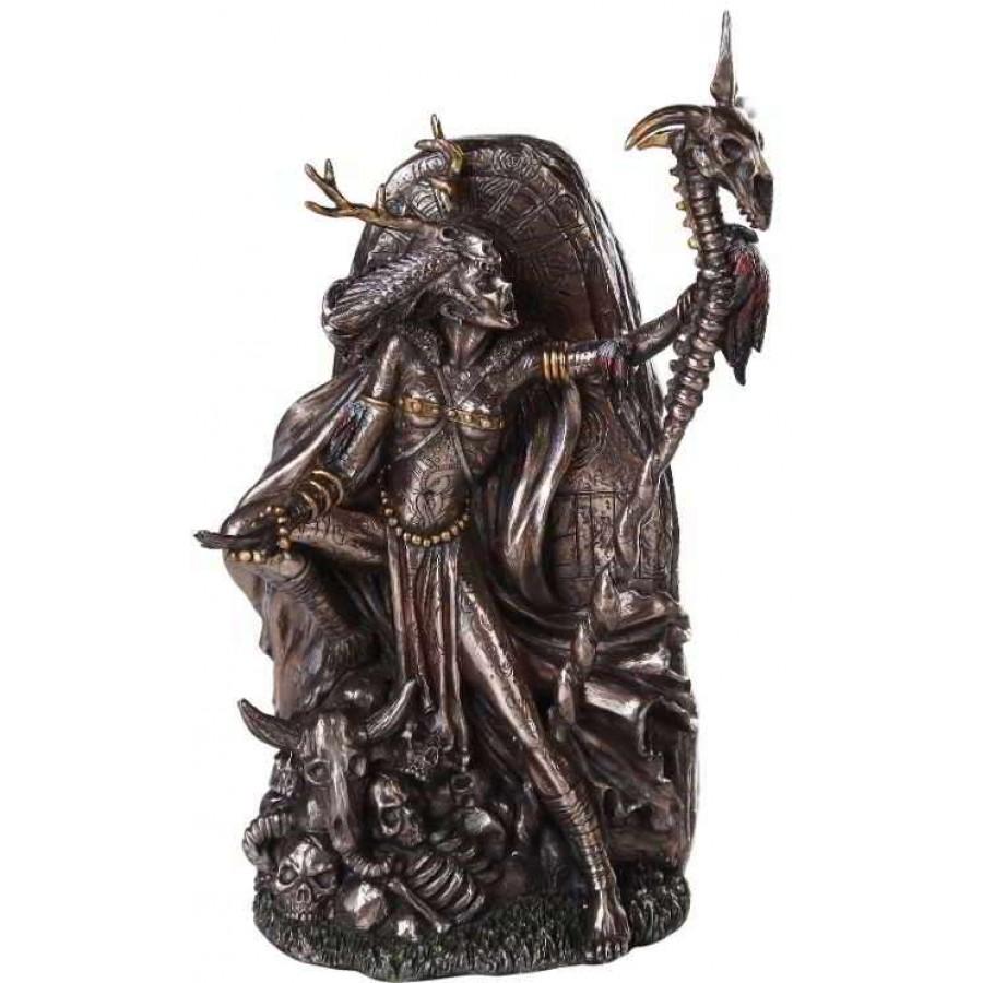 morgan le fey bronze resin statue 10 inch statue