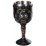 Day of the Dead Sugar Skull Goblet at Mythic Decor,  Dragon Statues, Angels & Demons, Myths & Legends |Statues & Home Decor