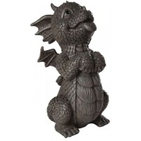 Happy Dragon Garden Statue