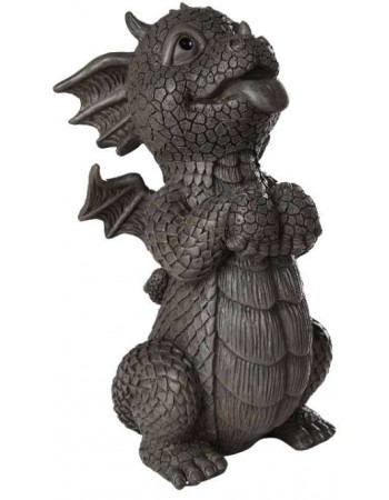 Happy Dragon Garden Statue Mythic Decor  Dragon Statues, Angels & Demons, Myths & Legends |Statues & Home Decor