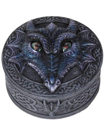 Dragon Box with Movable Eyes Mythic Decor  Dragon Statues, Angels & Demons, Myths & Legends |Statues & Home Decor