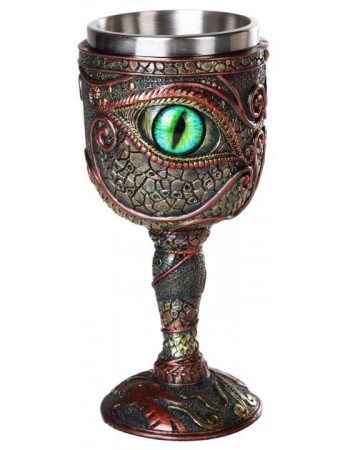 Dragon Eye Goblet Mythic Decor  Dragon Statues, Angels, Myths & Legend Statues & Home Decor