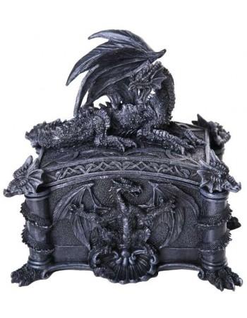 Dragon Treasure Box Mythic Decor  Dragon Statues, Angels, Myths & Legend Statues & Home Decor