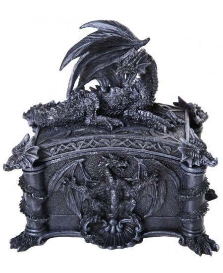 Dragon Treasure Box at Mythic Decor,  Dragon Statues, Angels, Myths & Legend Statues & Home Decor