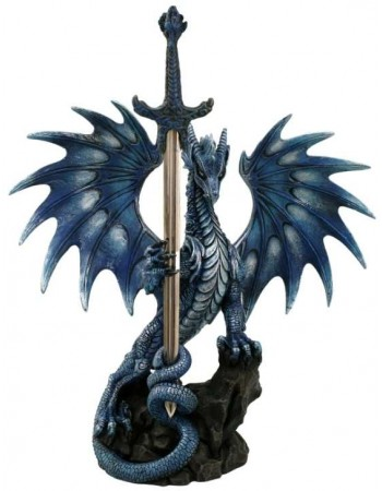 Sea Blade Dragon Desk Top Letter Opener Mythic Decor  Dragon Statues, Angels, Myths & Legend Statues & Home Decor