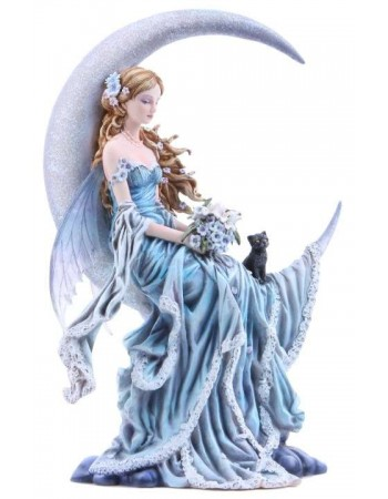 Wind Moon Fairy by Nene Thomas Statue Mythic Decor  Dragon Statues, Angels & Demons, Myths & Legends |Statues & Home Decor