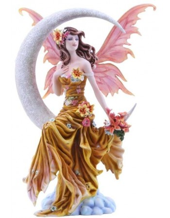 Earth Moon Fairy by Nene Thomas Statue Mythic Decor  Dragon Statues, Angels & Demons, Myths & Legends |Statues & Home Decor