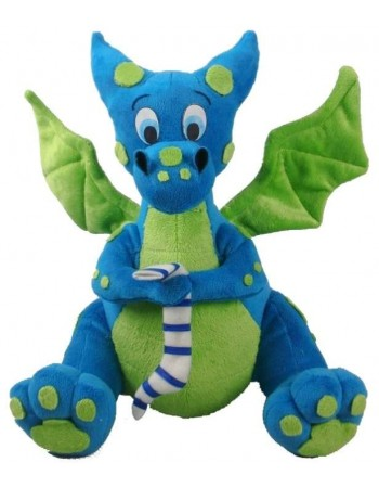 Blue Dragon Plush Toy Mythic Decor  Dragon Statues, Angels & Demons, Myths & Legends |Statues & Home Decor