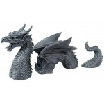 Dragon of a Fallen Castle Moat Statue at Mythic Decor,  Dragon Statues, Angels & Demons, Myths & Legends |Statues & Home Decor