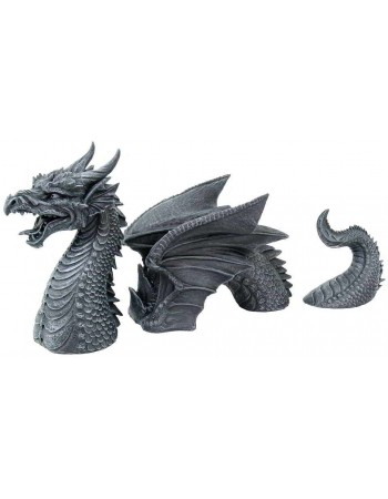 Dragon of a Fallen Castle Moat Statue Mythic Decor  Dragon Statues, Angels & Demons, Myths & Legends |Statues & Home Decor