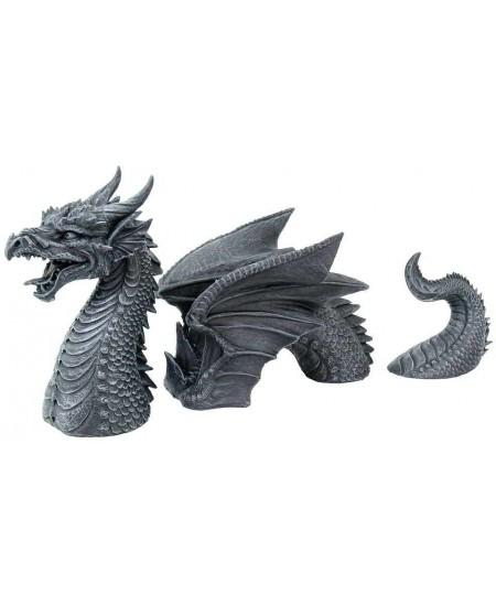 Dragon of a Fallen Castle Moat Statue at Mythic Decor,  Dragon Statues, Angels, Myths & Legend Statues & Home Decor