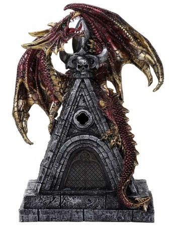 Gothic Dragon with LED Light Mythic Decor  Dragon Statues, Angels, Myths & Legend Statues & Home Decor